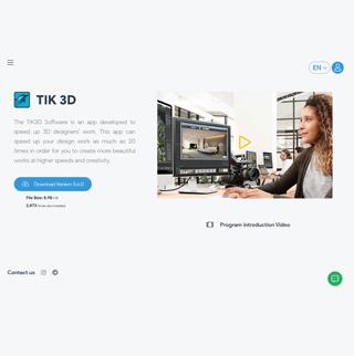 وبسایت فروشگاهی Tik3d